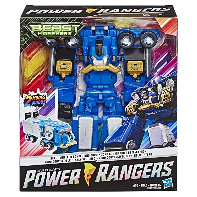 Power Rangers- BM Beast Wheeler Zord, Multicolor (Hasbro ...