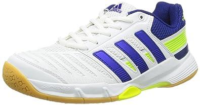 super popular c1faa 6f541 adidas Mens Court Stabil 10.1 Handball Shoes multi-coloured Mehrfarbig  (Running White Ftw