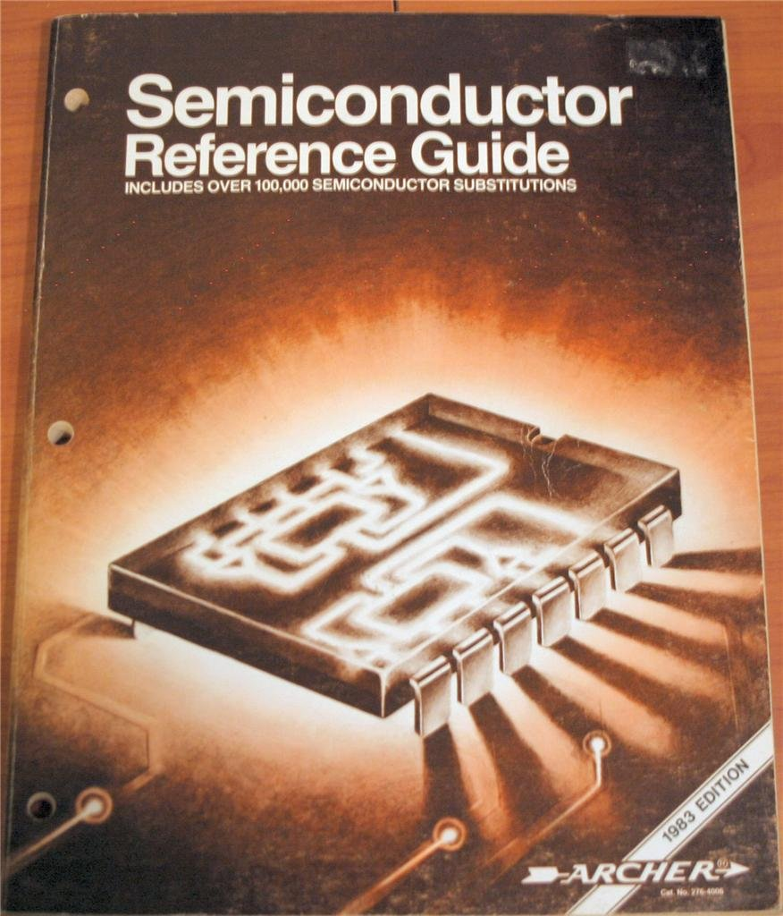 archer semiconductor reference guide 1983 edition over 100 000 rh amazon com radio shack semiconductor reference guide radio shack semiconductor reference guide
