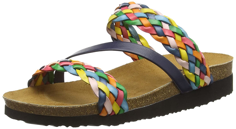 Lico Natural Trend, Pantofole Donna Multicolore (Bunt)