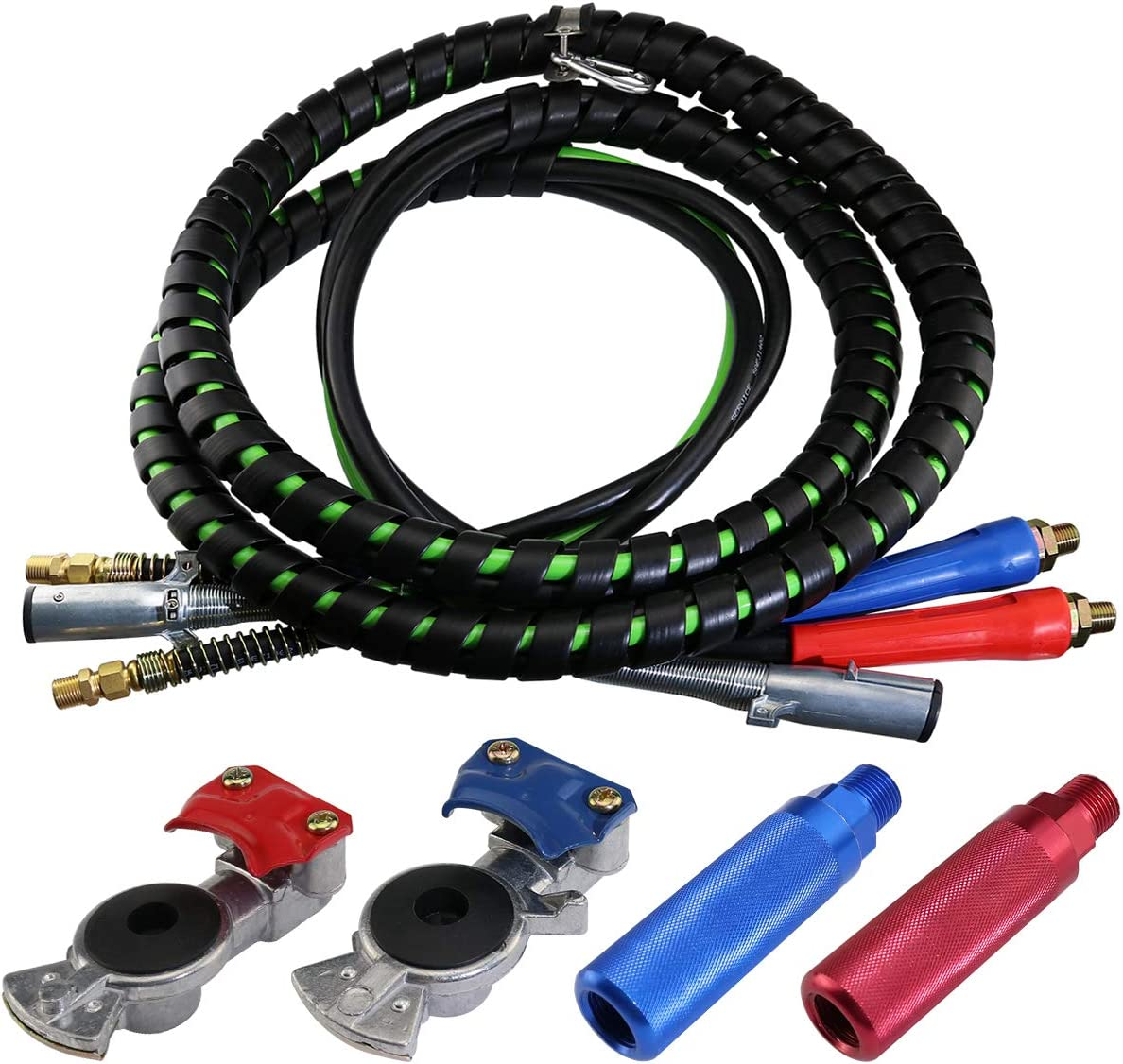 Road King Truck Parts ROAD KING HEAVY DUTY 20 DOUBLE TENDER SPRING KIT WITH 3 HOSE HOLDER RK-20020T