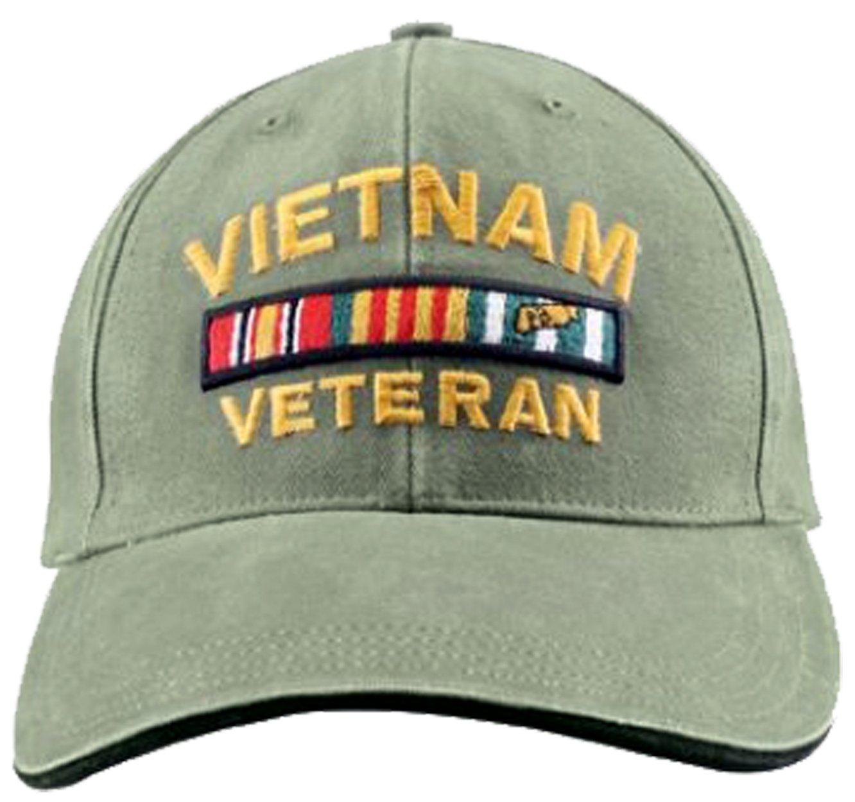Amazon.com  Buy Caps and Hats Vietnam Veteran Cap Military Vet Vintage  Light OD Green Mens Hat Olive  Sports   Outdoors 27357c1e819