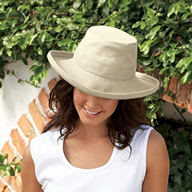 Tilley Hats TH8 Packable Sun Hat - Natural X-LARGE  Amazon.co.uk  Clothing 88f3a32a9af