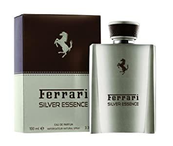 Amazoncom Ferrari Silver Essence Eau De Parfum Spray 100ml33oz