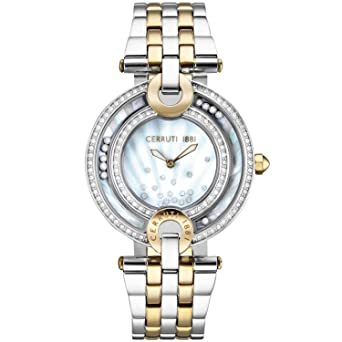 5a1a4b53bb5 Cerruti 1881 Ladies Watch CRM054STG28MGT: Amazon.co.uk: Watches