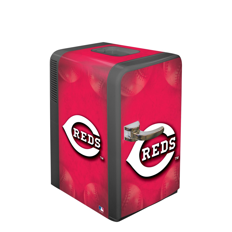 Cincinnati Refrigerator Repair Amazoncom Mlb Cincinnati Reds Portable Party Fridge 15 Quarts