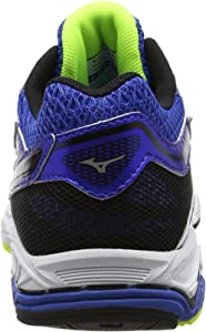 Mizuno Wave Equate, Zapatillas de Running para Hombre, Azul (Strong Blue/Silver/Safety Yellow), 42 EU: MainApps: Amazon.es: Zapatos y complementos