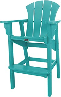 product image for Nags Head Hammocks Sunrise Bar Dining Chair, Turquoise