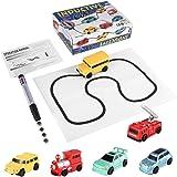 Maistore Magic Pen Car Follow Trail Inductive Car Tank Vehicle Toy For Kids
