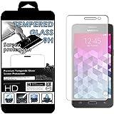 Film Protecteur d'écran en VERRE TREMPE pour Samsung Galaxy Grand Prime SM-G530FZ \ Grand Prime VE Value Edition SM-G531F Ultra Transparent Ultra Résistant INRAYABLE INVISIBLE