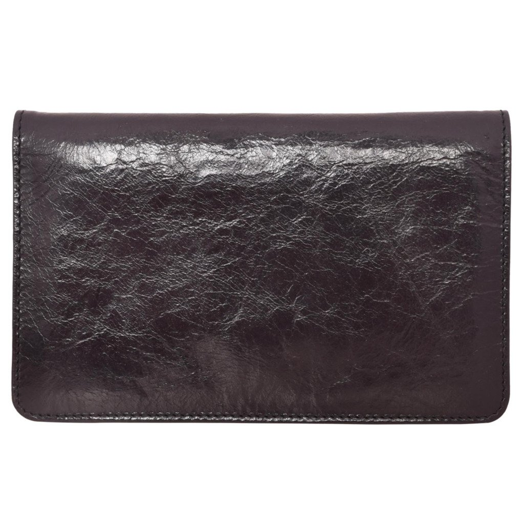 Latico Leathers Palmer Wallet Genuine Authentic Luxury Leather, Designer Made, Business Fashion and Casual Wear, Black