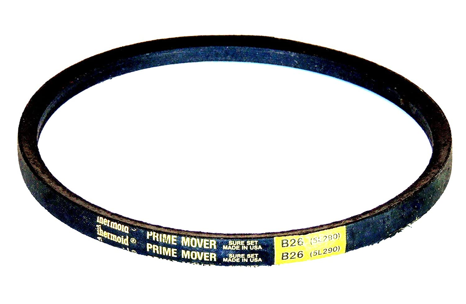 HBD//Thermoid B126 Prime Mover Unicord Belt Rubber