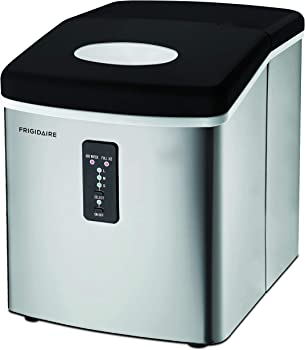 Frigidaire Stainless Steel Portable Ice Maker