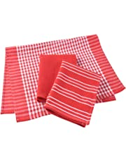 Paños de cocina, 100% algodón, de tejido de lino