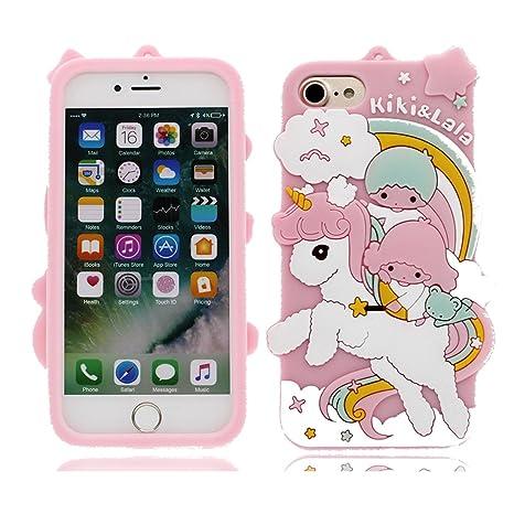 iPhone 6S Plus Carcasa, Linda 3D Unicorn TPU Gel Slim-Fit ...