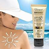 Disaar Protezione solare Isolamento Imbiancamento orrettore BB Crema SPF50+ Idratante Impermeabile 50ml
