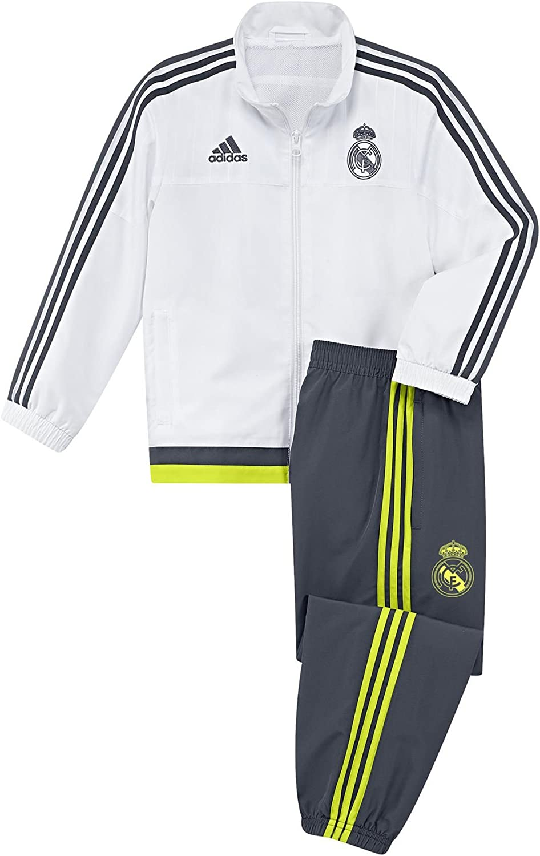 adidas Real Madrid Mini Presentation Chándal, Bebé-Niños: Amazon ...