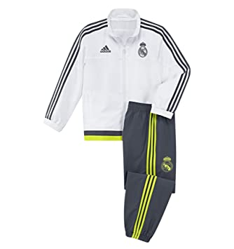 adidas Jungen Trainingsanzug REAL PR SUIT Y