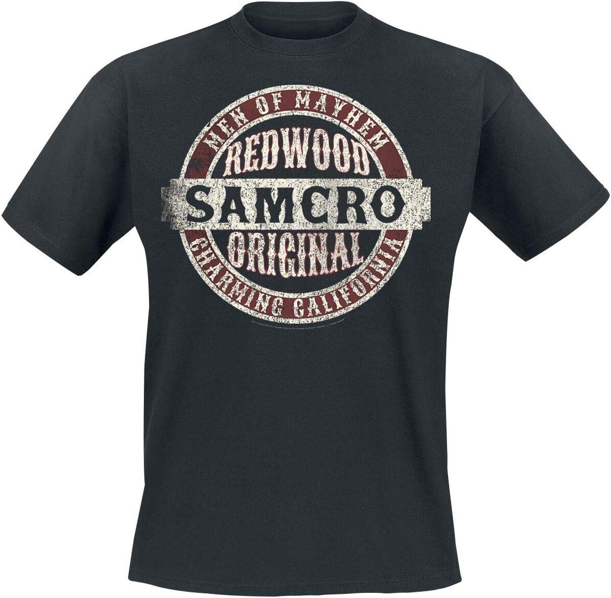 Sons of Anarchy Samcro Original T-Shirt zwart