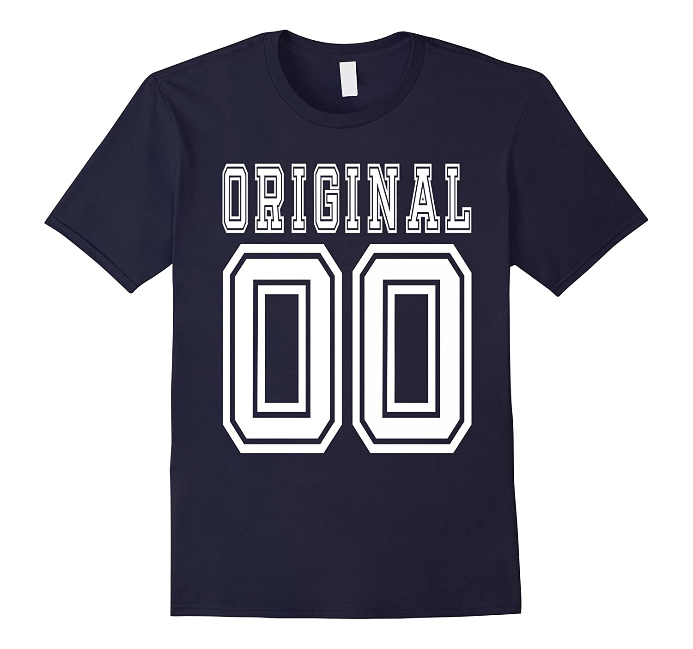 2000 T Shirt 17th Birthday Gift 17 Year Old Boy Girl B Day