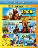 Kids Collection 3D - Jock 3D/Cinderella 3D/Ab ins Meer 3D [3D Blu-ray]