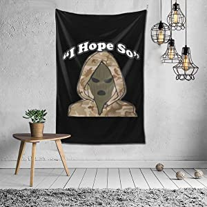 VCFDZCFD Kodak Black I Hopen So Tapestry Wall Hanging Throw Home Bedroom Living Room Decor in 60