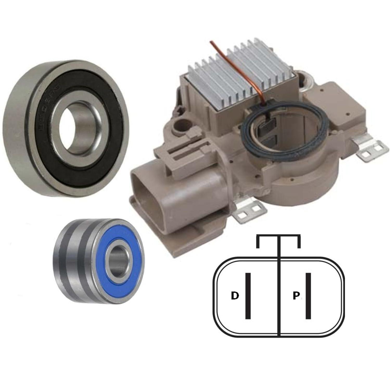 Starters & Alternators Alternator Rebuild Kit 1999-2003 Mazda ...