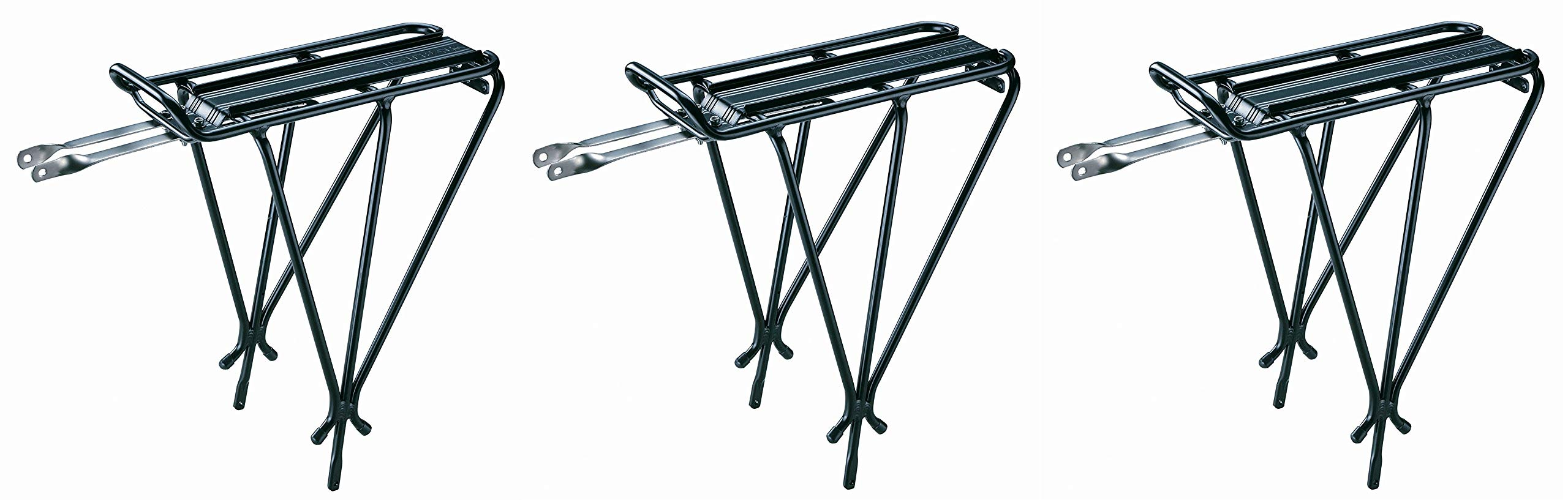 Topeak Explorer Rack Without Spring, Black (Pack of 3)