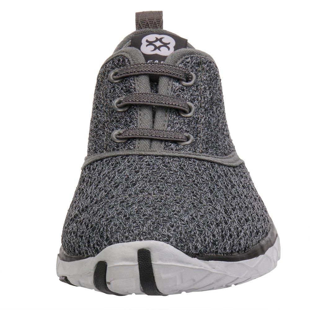 hot sale online d9007 cf9e9 Zapatos de agua de secado rápido Aqua de ALEADER para hombres Gris (con  estilo)