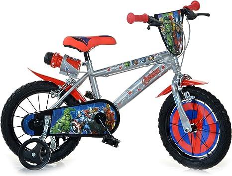 Dino Bikes Bicicleta Infantil Niño 14 Pulgadas Avengers Frenos al ...