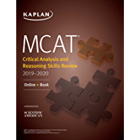 MCAT Critical Analysis and Reasoning Skills Review 2019-2020: Online + Book (Kaplan Test Prep) (English Edition)