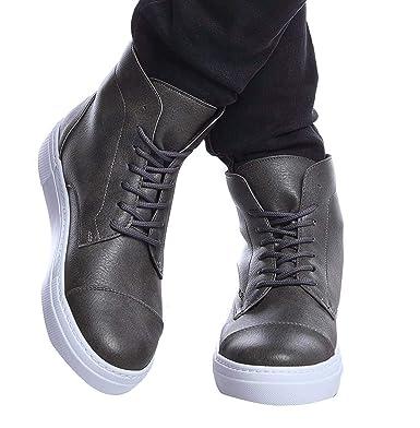 quality design 7945a 4fdc3 LEIF NELSON Herren Schuhe Freizeitschuhe Boots Elegante Winterschuhe  Klassische Stiefel Männer Sneakers LN158