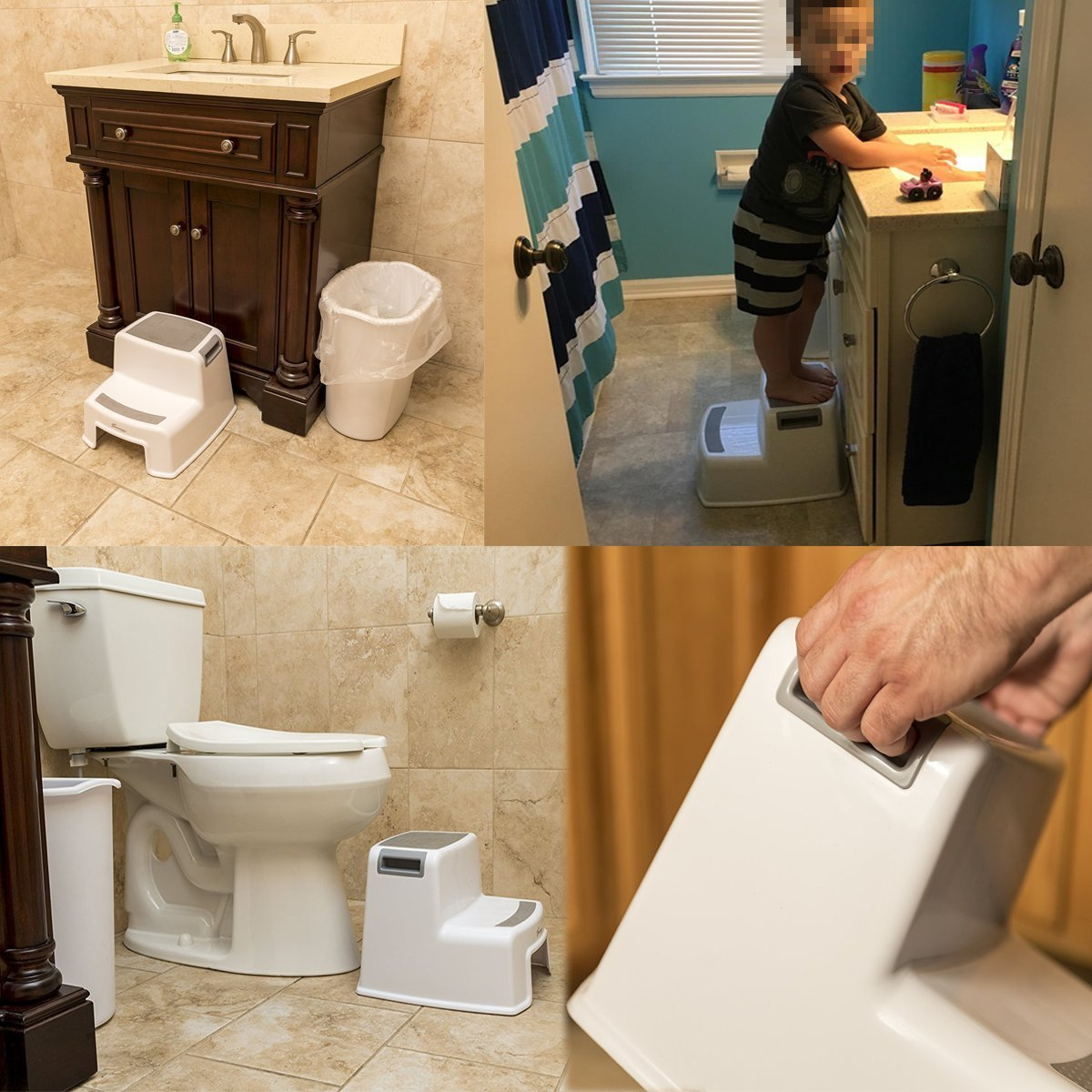 Step/Stool/for/Kids Toddler/Step/Stools/Children/Step/Stool/for Bathroom/Washstand/Dual/Height/Stool/for/Potty/Trainning/Stepping/Stool/and/Use/in/