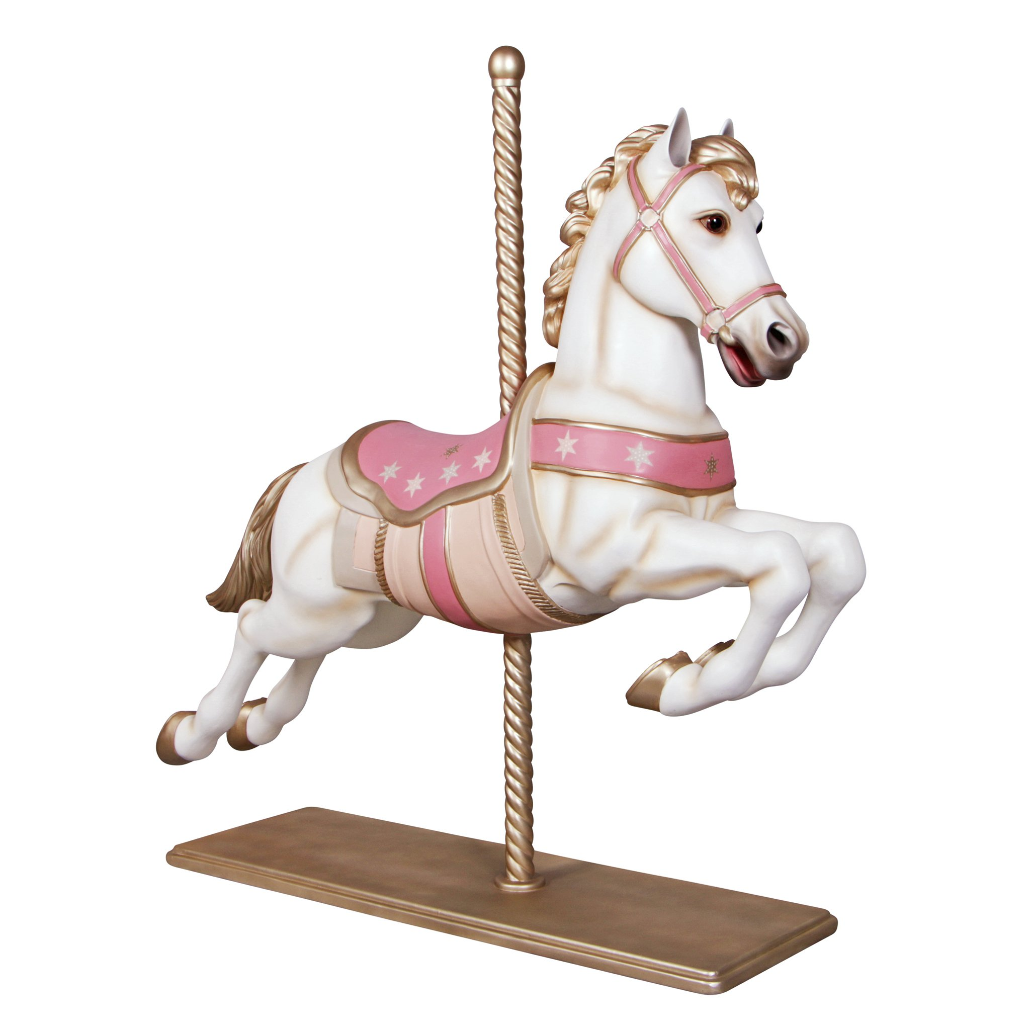 Design Toscano Spirit The Full Sized Carousel Horse Statue Color