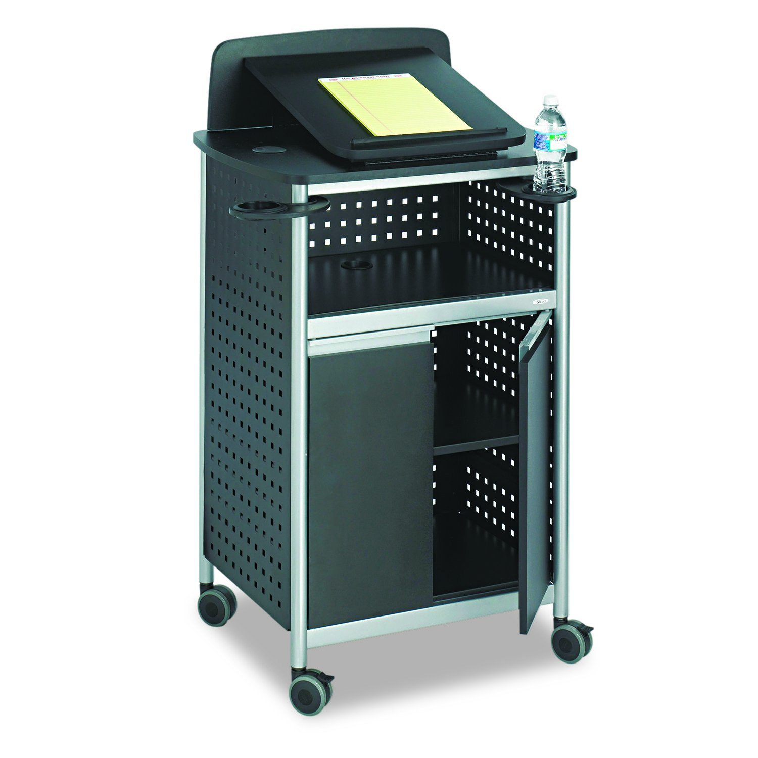 Safco Products 8922BL Scoot Multi-Purpose Lectern, Black