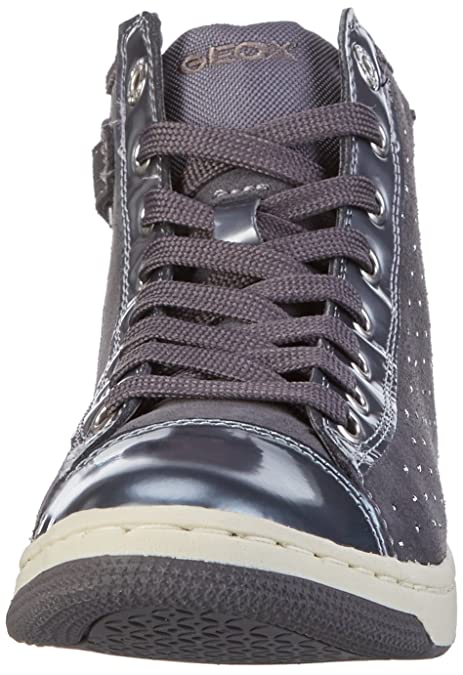Geox Witty F, Sneakers Hautes Fille, Grau (DK GREYC9002), 29 EU