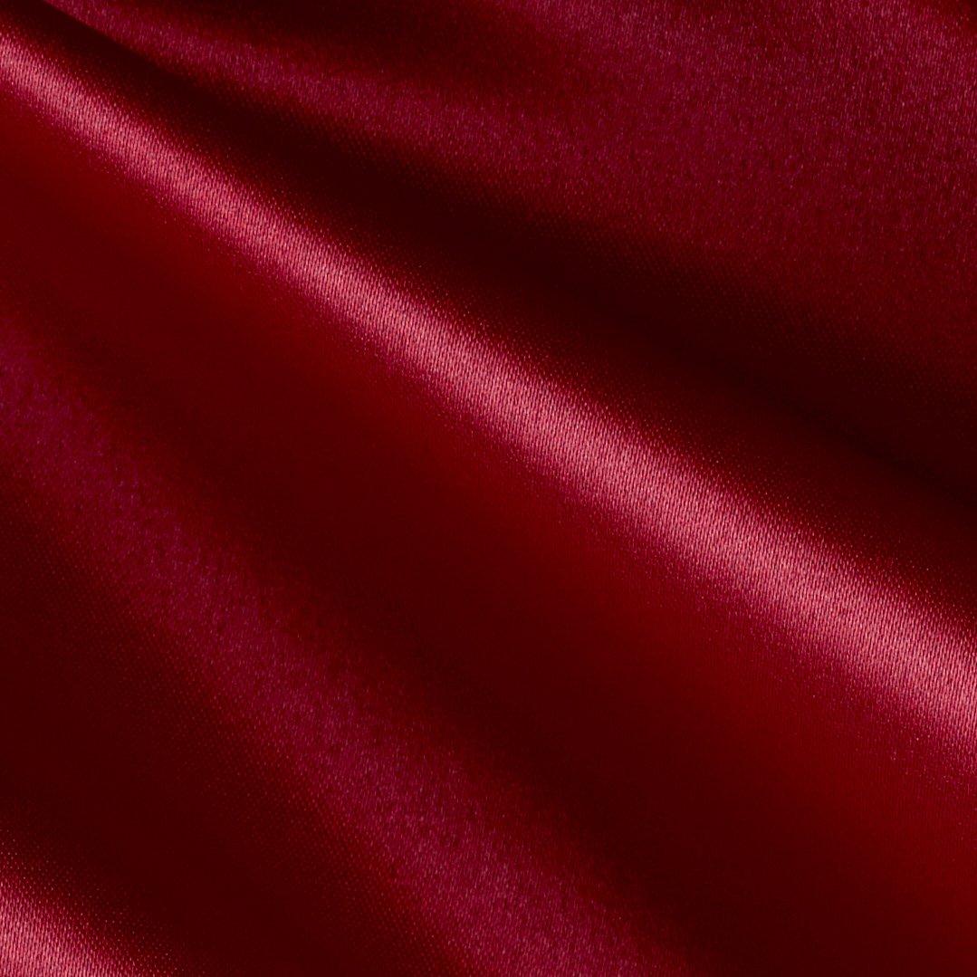 Amazon Mi Amor Duchess Satin Dark Red Fabric By The Yard