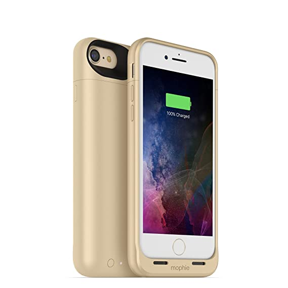 separation shoes fd988 db80a mophie juice pack wireless - Charge Force Wireless Power - Wireless  Charging Protective Battery Pack Case for Apple iPhone 8 and iPhone 7 - Gold