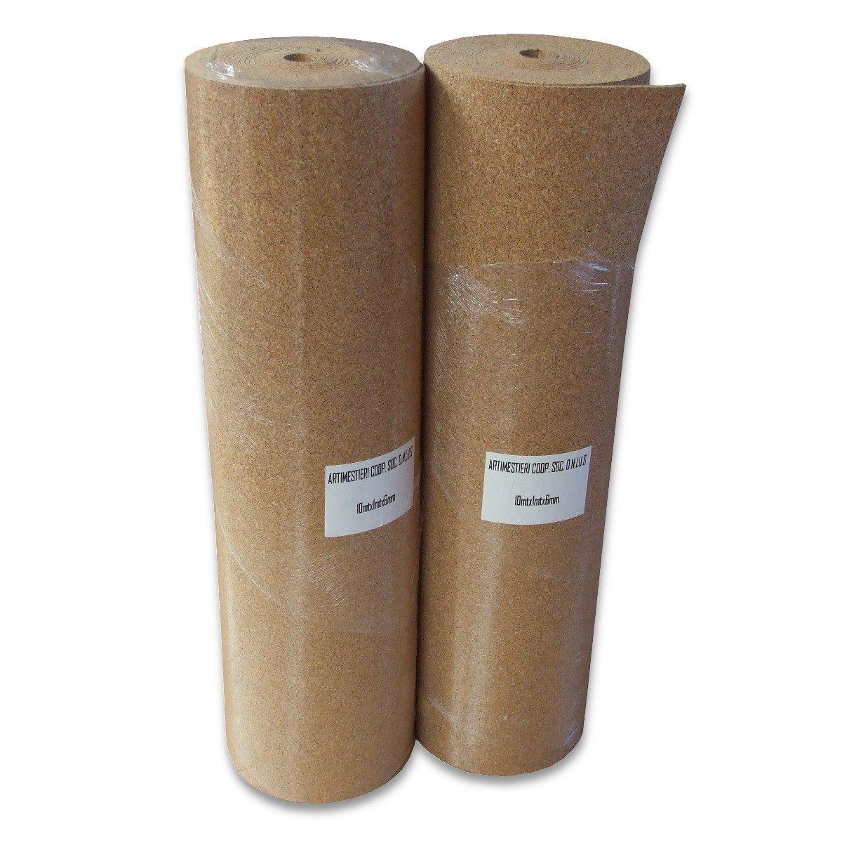 PANELES DE CORCHO SUPER COMPRIMIDO - ESPESOR 3-6-10mm - 10 mm - conf.165mq: Amazon.es: Bricolaje y herramientas