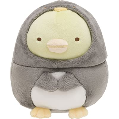 Sumikkogurashi Shirokuma's Friend Stuffed animals are wrapped Penguin: Toys & Games