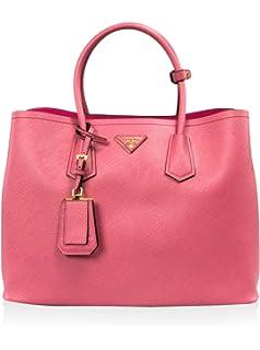 b186487985 Prada Bauletto Women s Black Nero Vitello Phenix Handbag 1BB023 ...