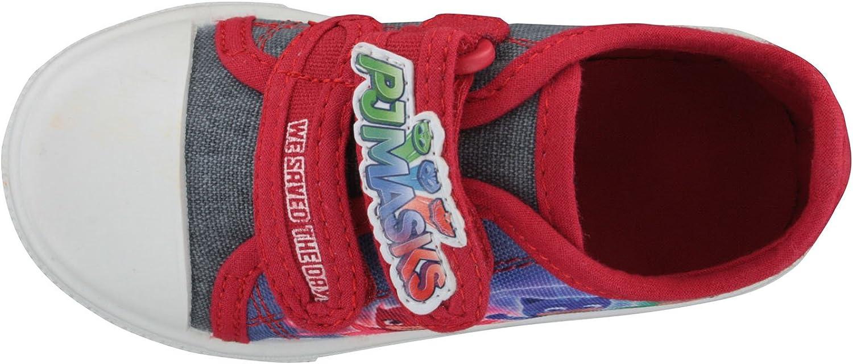 PJ Masks Platanar Blue & Red Trainers Various Sizes