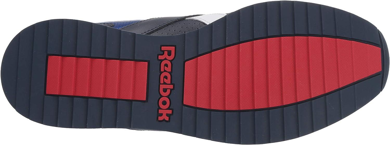Reebok Men's Classic Harman Ripple Running Shoe Navy/Cobalt/Red