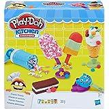Hasbro 孩之宝 Play-Doh 培乐多彩泥 创意厨房系列 冰激凌甜点套装 E0042