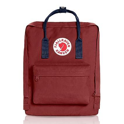 da392c12a77 Image Unavailable. Image not available for. Color  Fjallraven Kanken  Backpack - Ox Red Royal Blue