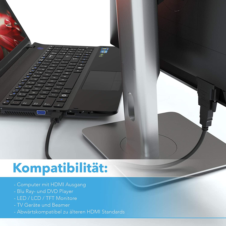 Laptop Projektor UVM. DisplayPort auf VGA Adapter 2er Pack JAMEGA Vergoldet DP zu VGA Kabel 1080P Full HD HDTV Konverter f/ür PC Monitor