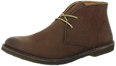 Kickers Womens Crepy1,Dark Brown Leather,EU ...