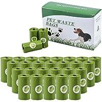 Poop Bags - Leak Proof Scented Dog Waste Bags, Pet Waste Bags,Biodegradable Poop Dog Bags for Dog, Doggie Bags Green…