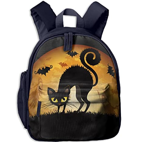 Halloween Pumpkin Kids Backpack Personalized