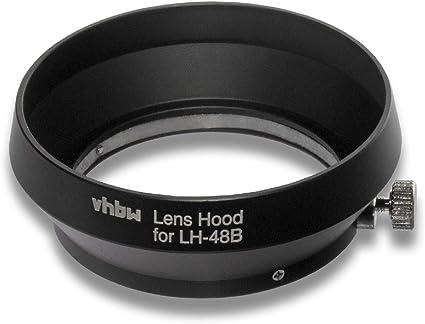 Vhbw Gegenlicht Streulicht Blende Schwarz Für Kamera Kamera